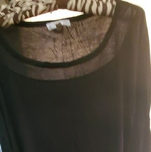 Spense Plus Size 3/4 sleeve with button sleeves